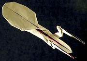 Origami Enterprise NCC-1701-E by Andrew Pang on giladorigami.com