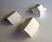 Origami Japanese roofs by Tachi Tomohiro on giladorigami.com