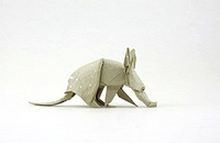 Origami Aardvark by Quentin Trollip on giladorigami.com