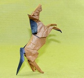Origami Horse by Quentin Trollip on giladorigami.com