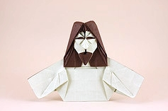 Origami Jesus by Quentin Trollip on giladorigami.com