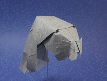 Origami West Indian manatee by Quentin Trollip on giladorigami.com