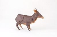 Origami Southern Pudu by Quentin Trollip on giladorigami.com