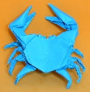 Origami Freshwater crab by Robert J. Lang on giladorigami.com