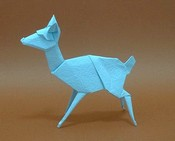 Origami Fawn by Stephen Weiss on giladorigami.com