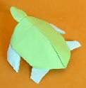 Origami Turtle - sea by Stephen Weiss on giladorigami.com