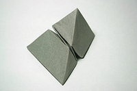 Origami Twisted polyhedra by Satoshi Kamiya on giladorigami.com