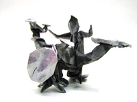 Origami Drummer by Marc Kirschenbaum on giladorigami.com
