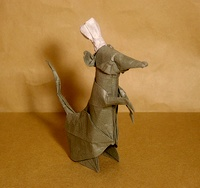 Origami Chef rat by Nguyen Hung Cuong on giladorigami.com