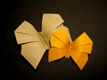 Origami Butterfly by Fabian Correa on giladorigami.com