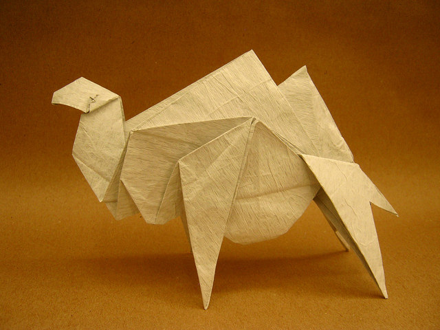 Origami Camel by Richard Galindo Flores on giladorigami.com