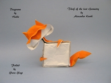 Origami Thief of the last geometry by Alexander Kurth on giladorigami.com