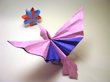 Origami Hummingbird by Aldo Marcell on giladorigami.com