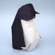Origami Penguin - Bingo by Federico Scalambra on giladorigami.com