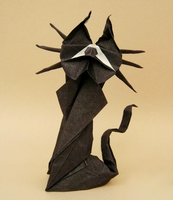 Origami Cat by Sebastien Limet (Sebl) on giladorigami.com