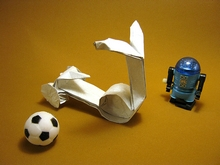 Origami Scooter by Gerwin Sturm on giladorigami.com