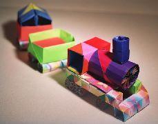 Origami Train And Rail By Toshikazu Kawasaki On Giladorigami