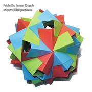 Origami Modular units by Paolo Bascetta on giladorigami.com