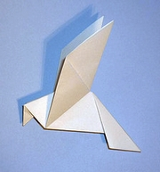 Origami Peace Dove By Alice Gray On Giladorigami