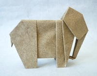 Origami Elephant by Nick Robinson on giladorigami.com