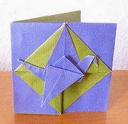 Origami Greeting card by Martin Wall on giladorigami.com