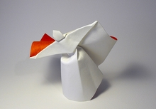 Origami Dancer by Jozsef Zsebe on giladorigami.com