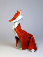 Origami Fox by Jozsef Zsebe on giladorigami.com